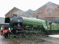 Photograph of The Flying Scotsman locomotive